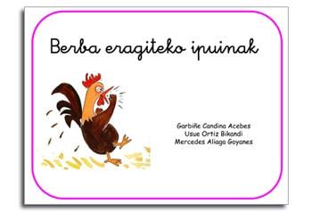 BERBA ERAGITEKO IPUINAK portada