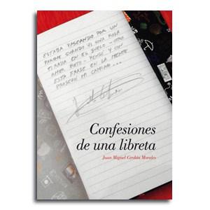 Portada Confesiones de una libreta, poemas