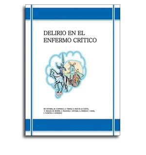 Delirio en el enfermo critico portada libro medicina