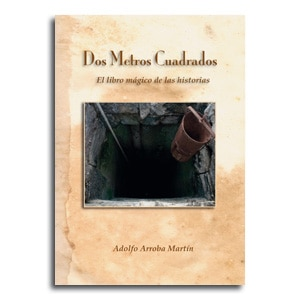 Libro relatos Dos metros cuadrados portada