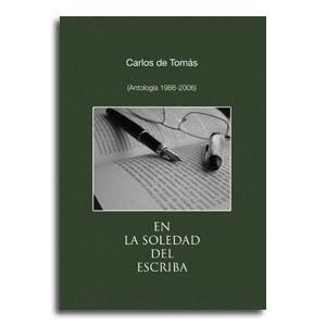 En la Soledad del Escriba portada libro poesía