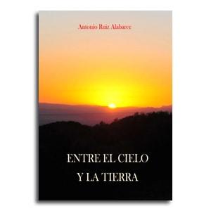 Entre el cielo y la tierra portada libro poesia