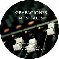 Grabaciones musicales caratula CD
