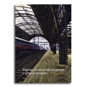 Paginas de una vida incipiente portada libro relatos