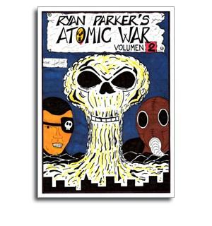 Atomic War 2 Portada Comic