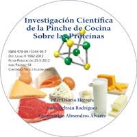 Investigacion Cientifica de la Pinche de Cocina Sobre las Proteinas