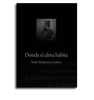 Portada libro de poesía Donde el alma habita