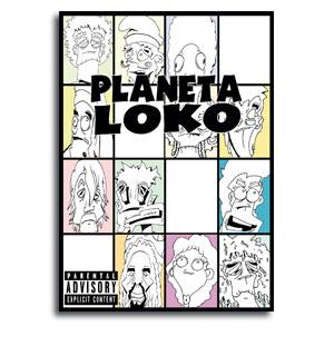 Comic Planeta Loko, portada