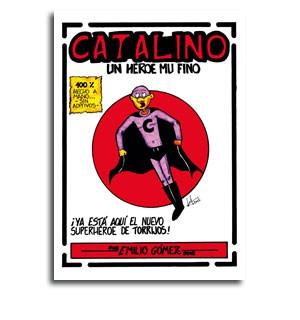 Portada comic Catalino
