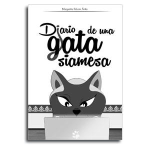 Portada libro Diario de una gata siamesa