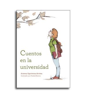 Portada del libro cuentos en la universidad