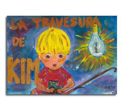cuento infantil la travesura de KIM
