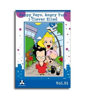 Portada de Comic Happy Vero