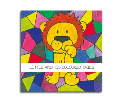 Portada Little and his coloured tails