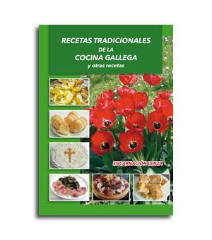 Recetas Tradicionales De La Cocina Gallega. Portada Libro De Recetas
