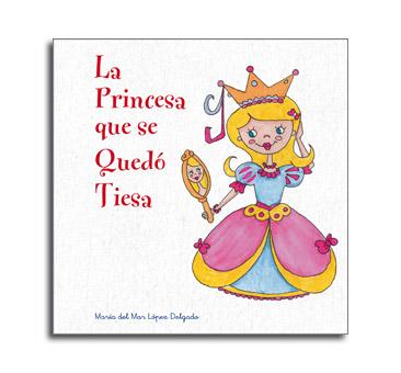Portada cuento de princesas