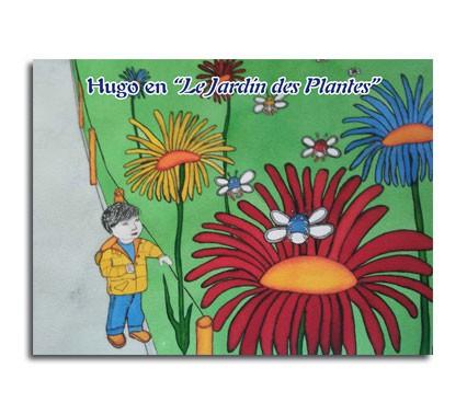 Portada de Cuento Hugo en Le Jardin de Les Plantes