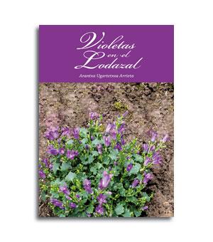 Portada libro Violetas en el lodazal