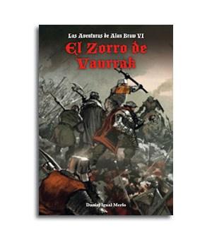Portada novela El Zorro de Vanrrak