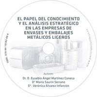 Cartula CD Conocimiento envases metalicos