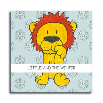 Portada Cuento Little and the winter mayusculas