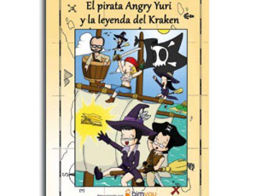 El pirata Angry Yuri y la leyenda del Kraken