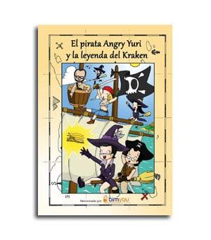 Portada del comic El Pirata Angry Yuri castellano