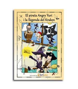 Portada del comic El Pirata Angry Yuri catalan