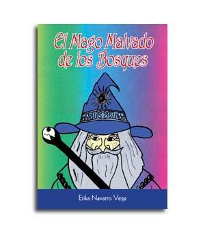 portada del cuento infantil El mago malvado de los bosques