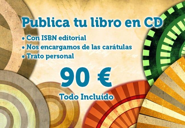 publicar un libro en cd con isbn de editorial para oposiciones