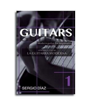 Portada de metodo para aprender a tocar la guitarra moderna