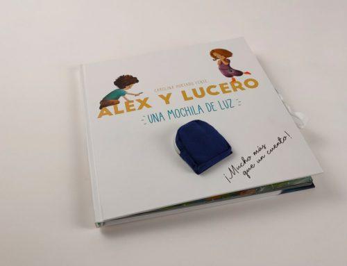 Alex y Lucero. Una mochila de luz