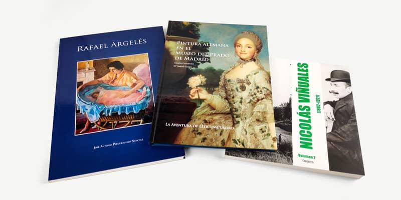 especialistas en publicar catálogos y libros de arte