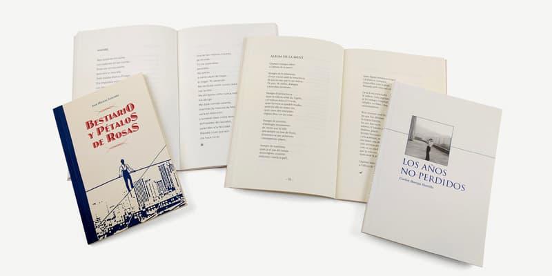 ejemplos de publicación de libros de poesía
