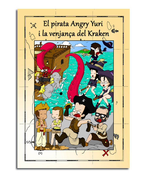 portada del cuento las aventuras de Brenda, Bruno y Brinco